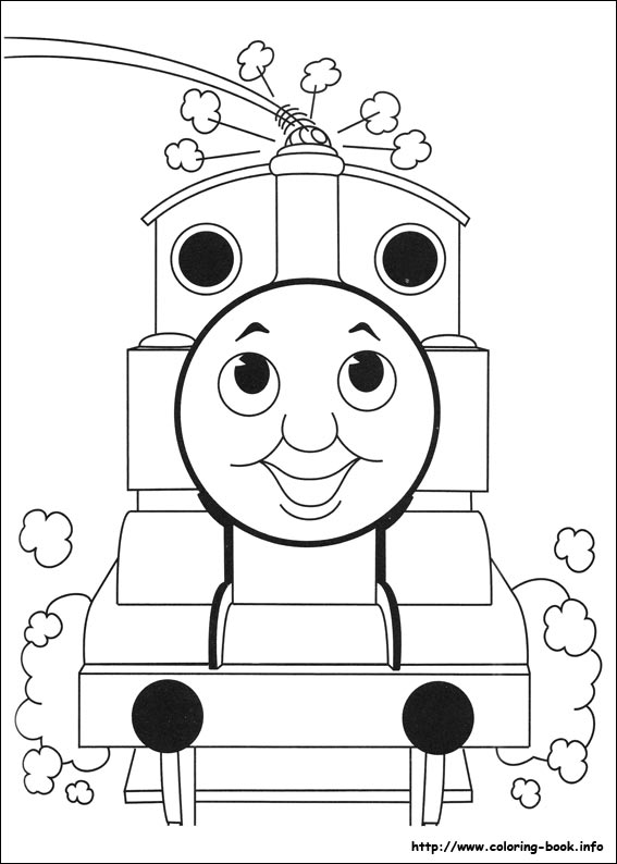 Thomas and Friends coloring pages on Coloring-Book.info