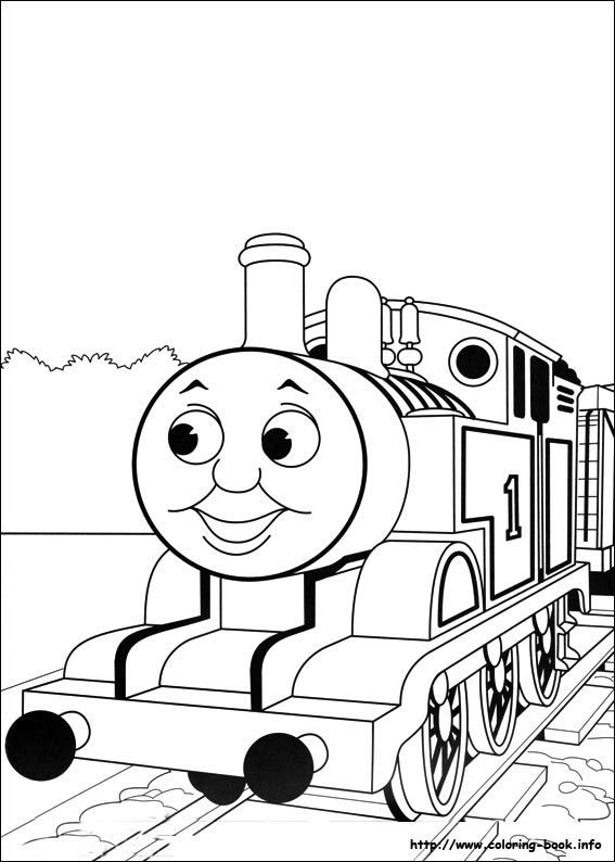 - Thomas And Friends Coloring Pages On Coloring-Book.info