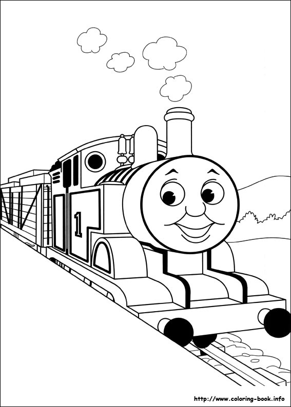 Thomas The Train Coloring Pages Classy Thomas And Friends Coloring Pages On Coloringbook