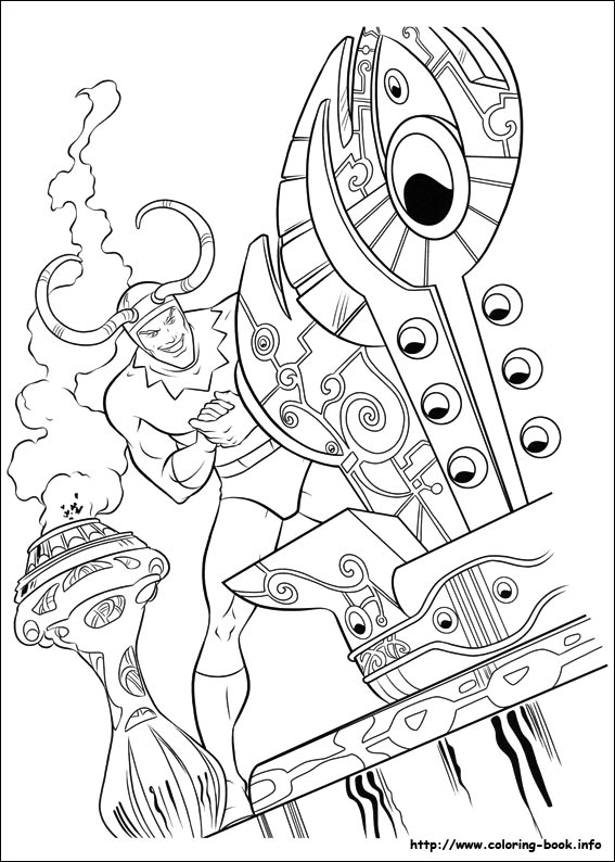 Thor coloring pages on Coloring-Book.info