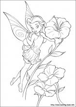 index coloring pages - Coloring Pages Tinkerbell