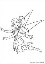 Download and Print Free Tinkerbell Coloring Pages Girls ... | 220x157