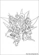 Tinkerbell Coloring Pages On Coloring Book Info
