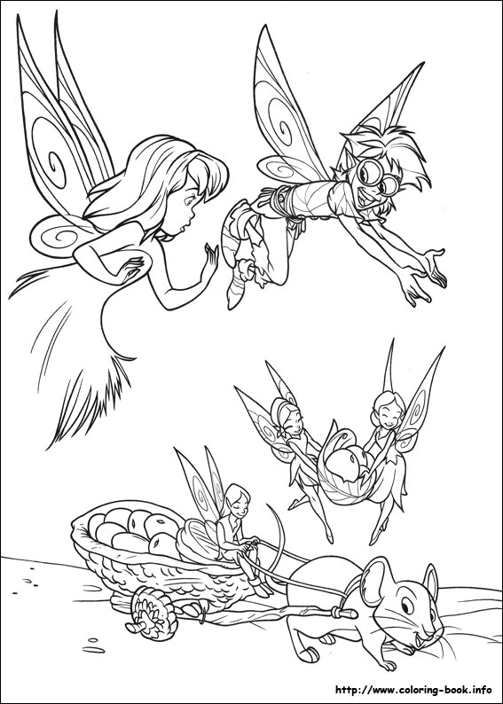 Disney Fairies Tinkerbell Coloring Page | crayola.com | 794x567