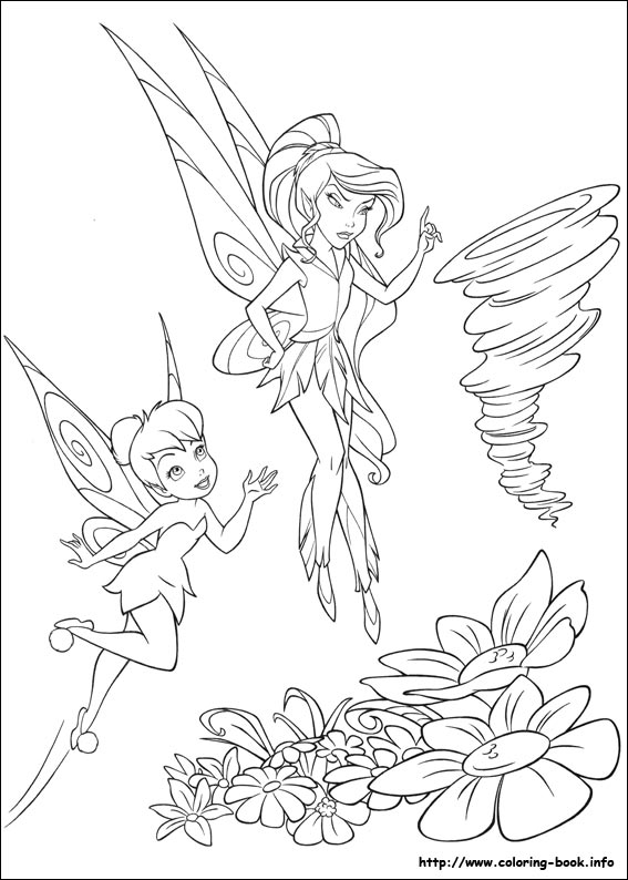 Vidia Tinkerbell Drawing Tinkerbell Coloring Picture