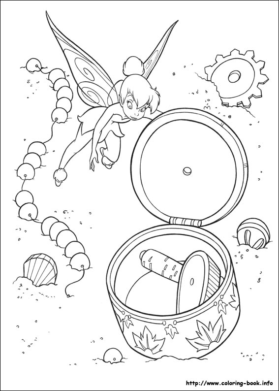 Worksheet. Tinkerbell coloring pages on ColoringBookinfo