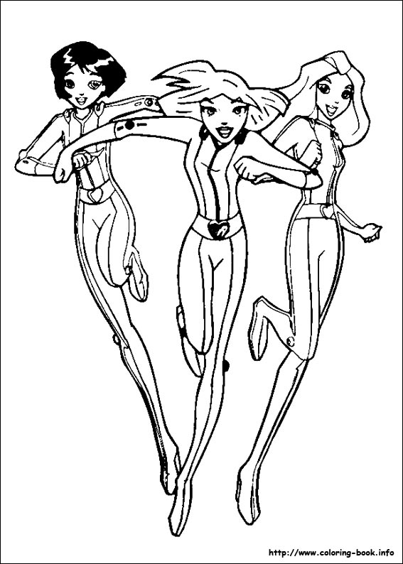 totally spies 01 totally spies coloring pages on coloring book info on totally spies coloring pages
