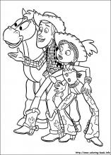 Toy Story coloring pages on Coloring Bookinfo