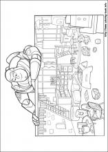 Toy Story 3 Coloring Pages On Book