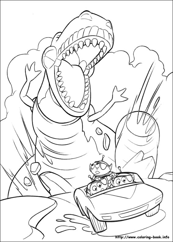 Story 3 Coloring Picture Story Coloring Pages
