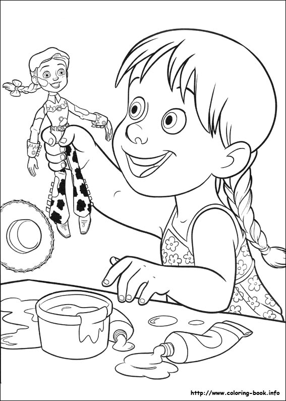 Toy Story 3 coloring pages on Coloring Bookinfo