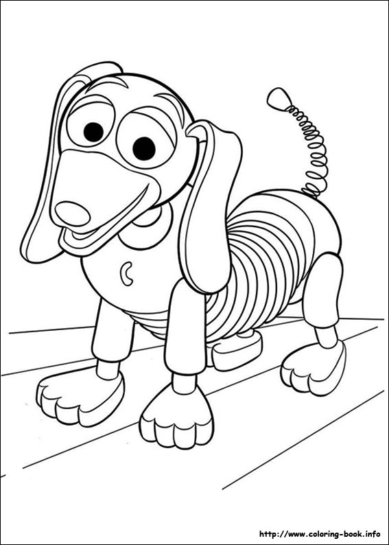 toy story 3 coloring picture - Toy Story Coloring Book