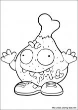 grossery gang coloring pages The Trash Pack coloring pages on Coloring Book.info grossery gang coloring pages