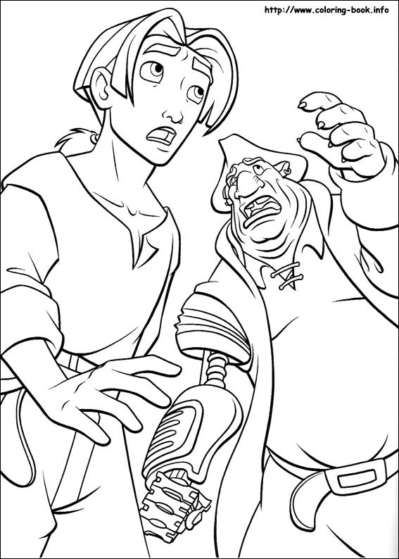 treasure planet coloring pages on coloring bookinfo