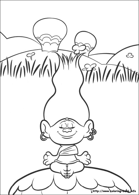 photo regarding Printable Trolls Coloring Pages named Trolls coloring webpages upon