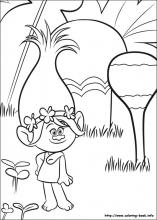 trolls coloring pages on coloring book info