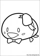 Tsum Tsum coloring pages on Coloring Bookinfo