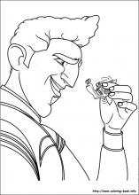 Turbo coloring pages on Coloring Bookinfo