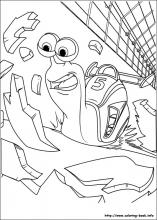 Turbo coloring pages on ColoringBookinfo