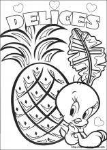 Tweety coloring pages on ColoringBookinfo