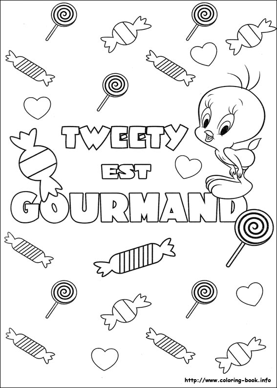Tweety coloring pages on Coloring-Book.info