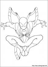 Ultimate Spider-Man coloring pages on Coloring-Book.info
