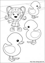 umizoomi coloring pages on coloring bookinfo - Team Umizoomi Coloring Pages