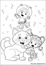 Umizoomi Coloring Pages On Coloring Book Info Team Umizoomi Coloring Pages