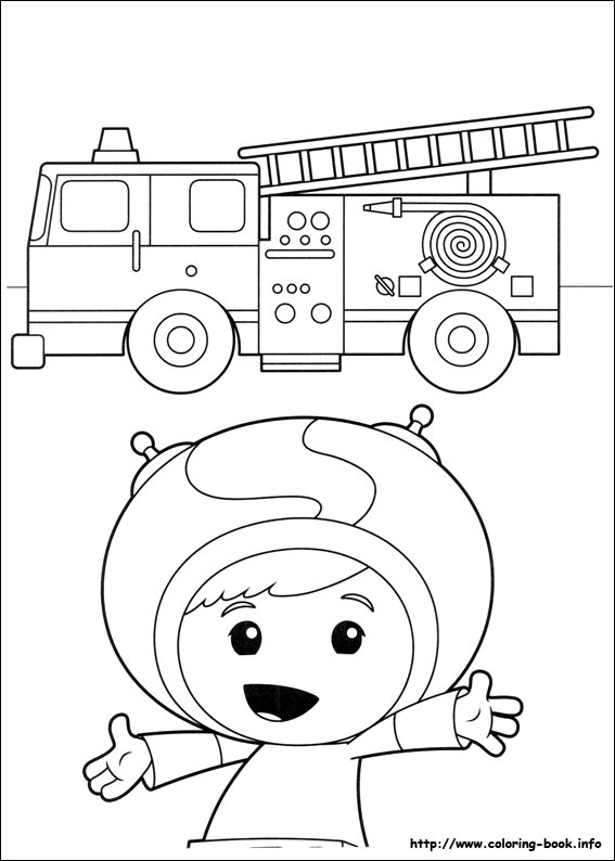 umizoomi coloring picture - Team Umizoomi Coloring Pages Free