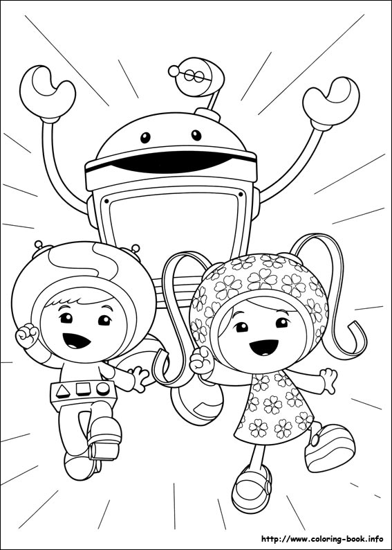 Umizoomi coloring pages on ColoringBookinfo