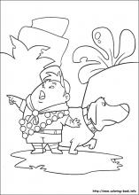 Up coloring pages on Coloring-Book.info