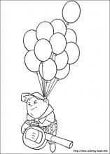 Up Coloring Pages On Book