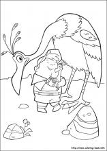 Up coloring pages on ColoringBookinfo
