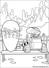 Wall E Coloring Pages On Coloring Book Info