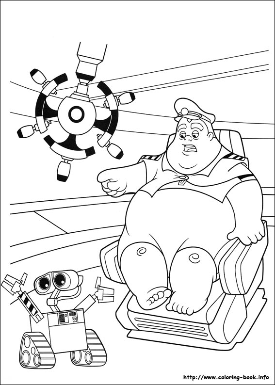 wall-e coloring pages Wall E coloring picture wall-e coloring pages