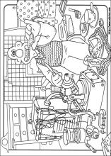 Wallace Gromet Colouring Pages | Wallace And Gromit Coloring Pages On Coloring Book Info
