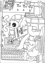 Wallace and Gromit Printable coloring pages