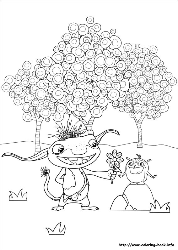 Wallykazam coloring pages on Coloring-Book.info