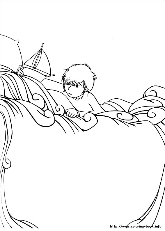 Where the wild things are coloring picture for Where the wild things are coloring page
