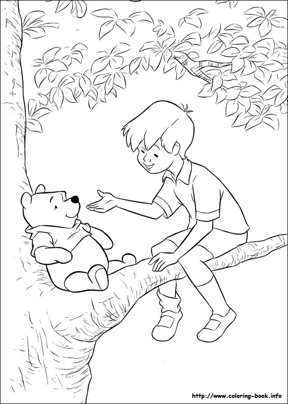 Winnie the Pooh coloring book