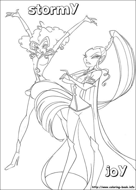 Раскраски Трикс Винкс и Сейлор Мун для вас волшебницы!