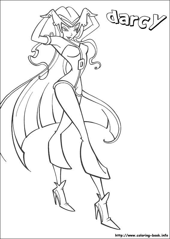 Winx coloring - Винкс раскраски от Викуля-Технуля