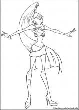 Winx Club coloring pages on Coloring-Book.info