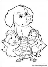 Wonder Pets Coloring Pages On Coloring Book Info