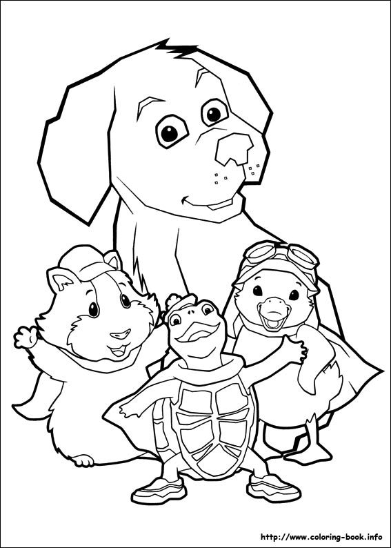 wonder pets 02 wonder pets coloring pages on coloring book info on pets for coloring