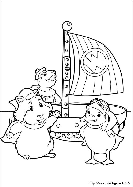 wonder pets coloring pages Wonder Pets coloring pages on Coloring Book.info wonder pets coloring pages