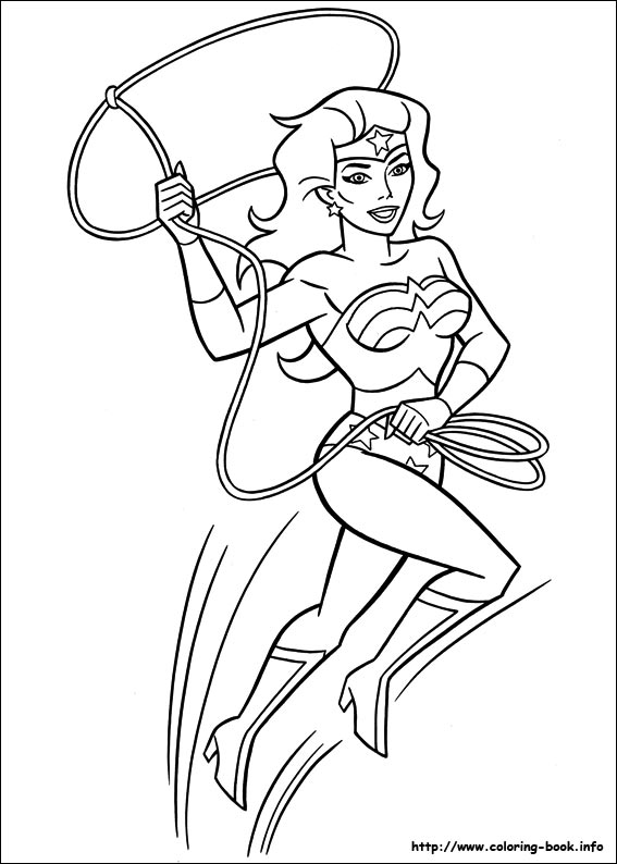 Free Coloring Pages Of D Supergirl