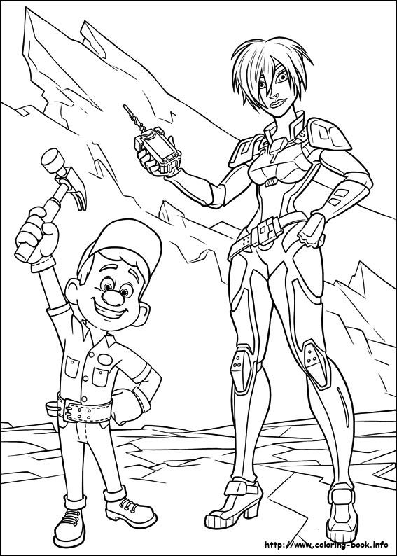 WreckIt Ralph coloring picture