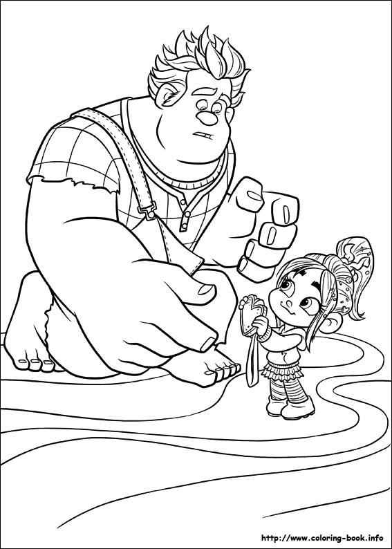 Wreck-It Ralph #107 (Películas de animación) – Páginas para colorear