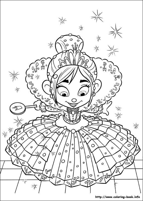 Wreck It Ralph Coloring Pages On Coloring Book